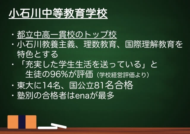 小石川中等教育学校まとめ